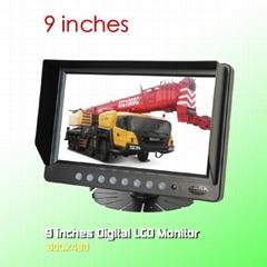 Desktop Digital 9 inch Quad LCD monitor