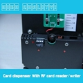 Mifare 13.56MHz RFID card dispenser for parking lot system