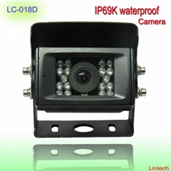 Waterproof back view camera