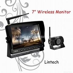 7 inch car wireless rear
