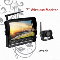7 inch wireless rearview system(LS-7006W)