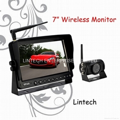 7 inches wireless car rearview system(LS-7006W)