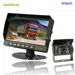 7 inch TFT Economy car backup camera kit for agricultural tractor