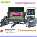 5 inch Stand alone Rear view camera system LW-050-B