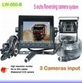 5 inch Lowest cost Truck rear view camera system LW-050-B