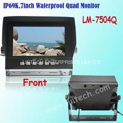 Hot 7 inch Waterproof Qu