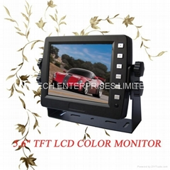 "5.6"" Bus Reversing Digital Color TFT-LCD Monitor for Various Vehicles (LM-56S-B)"