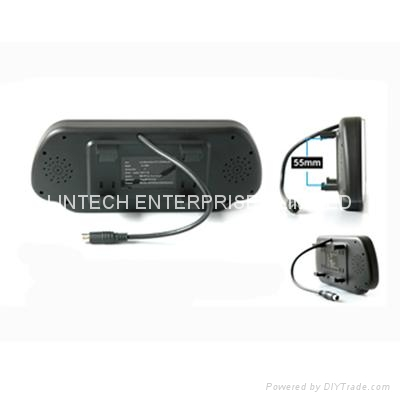 Bluetooth Car Rearview mirror monitor (LM-070M-A) 3