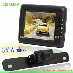 3.5  inch Factory price Car Security Backup Camera System LS-035A