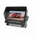 "7"" Color TFT LCD Car Rearview Monitor with 2 video input LM-7502"