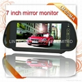 Rear View Mirror Back Up Monitor for Car