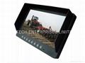 9 inch 4CH Digital LCD Quad Monitor Car Surveillance Security Monitor