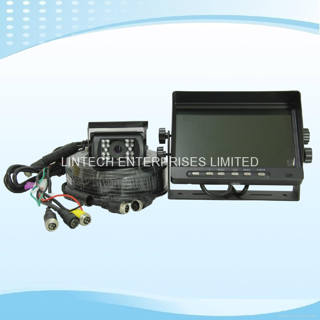 7 Inch Digital LCD Quad Car Rearview Camera Monitoring system (LW-070-A3) 2