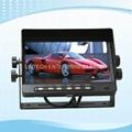 Digital 4 Split 7 Inch Quad Monitor Car Rearview camera system