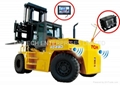 2014 NEW Design Forklift reverse parking sensor system with Rear view camera 2