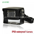 2014 NEW Design Forklift reverse parking sensor system with Rear view camera 4