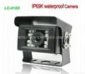 650TVL SONY CCD IP69 Waterproof Rear view Camera