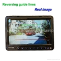 7 inch Truck wireless rearview camera systems with high brightness LCD Monitor