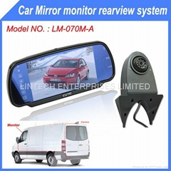 Mercedes Benz Sprinter Backup camera with Mirror Monitor
