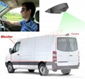 7 inch Mirror Monitor reversing camera system for Vans RV
