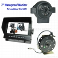 7 inch Forklifts Camera system