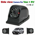 Side view camera for Sprinter Van