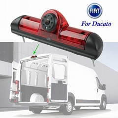 2015 New brake lights rear view backup Camera for Fiat Ducato Van 2006~2015