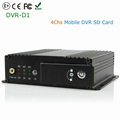 4CH Realtime Support SD Card Mobile Bus