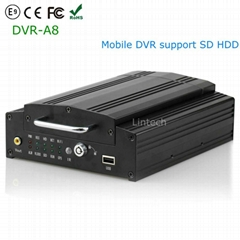8CH Mobile DVR Hard disk Card Car Truck Taxi Blackbox WiFi GPS