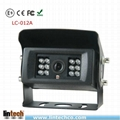 Reliable IP68 waterproof rear view mirror camera for tram airport vehicle