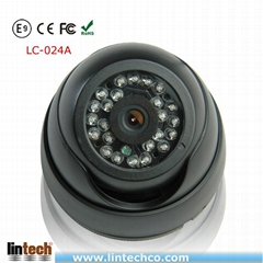 LC-024A Color CCD Sensor Dome Camera for Car inside Security System