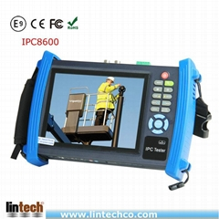 IPC8600 7 Inch Touch Screen CCTV Camera Test Monitor