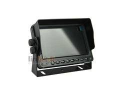 LM-050S-B 5 inches 3CHs Video Input High Brightness HD LCD Car Monitor 16:9