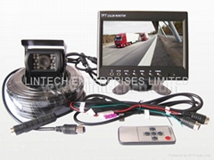 "Truck rear view system (7"" wire system)"