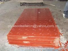 紅膜建築膜板