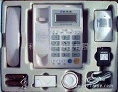 自帶電話機電話聯網防盜報警器