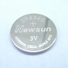 高品质CR2320 CR2330 3.0V扣式电池