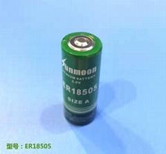 ER18505 3.6V锂亚电池