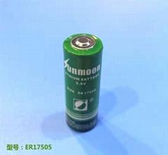 ER17505 3.6V锂亚电池