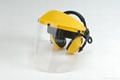 Face Shields with Ear Muffs, CE & ANSI Approved