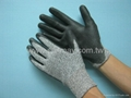 Grey Cut Resistance GloveS