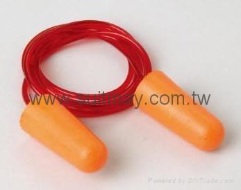CE EN352-2, ANSI S3.19 Approved PU Foam Earplug 1