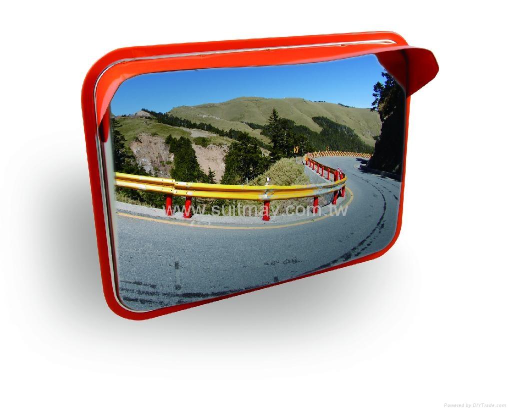Rectangular Convex Mirror  1