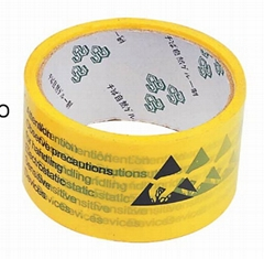 ESD Packing Tape with ESD Symbol
