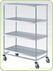 Solid Shelf Trolley