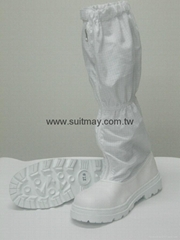 ESD Clean Room Boots with Steel Toe Cap  (Class 10-100)