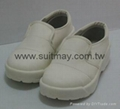 ESD Clean Room Shoes with Steel Toe Cap