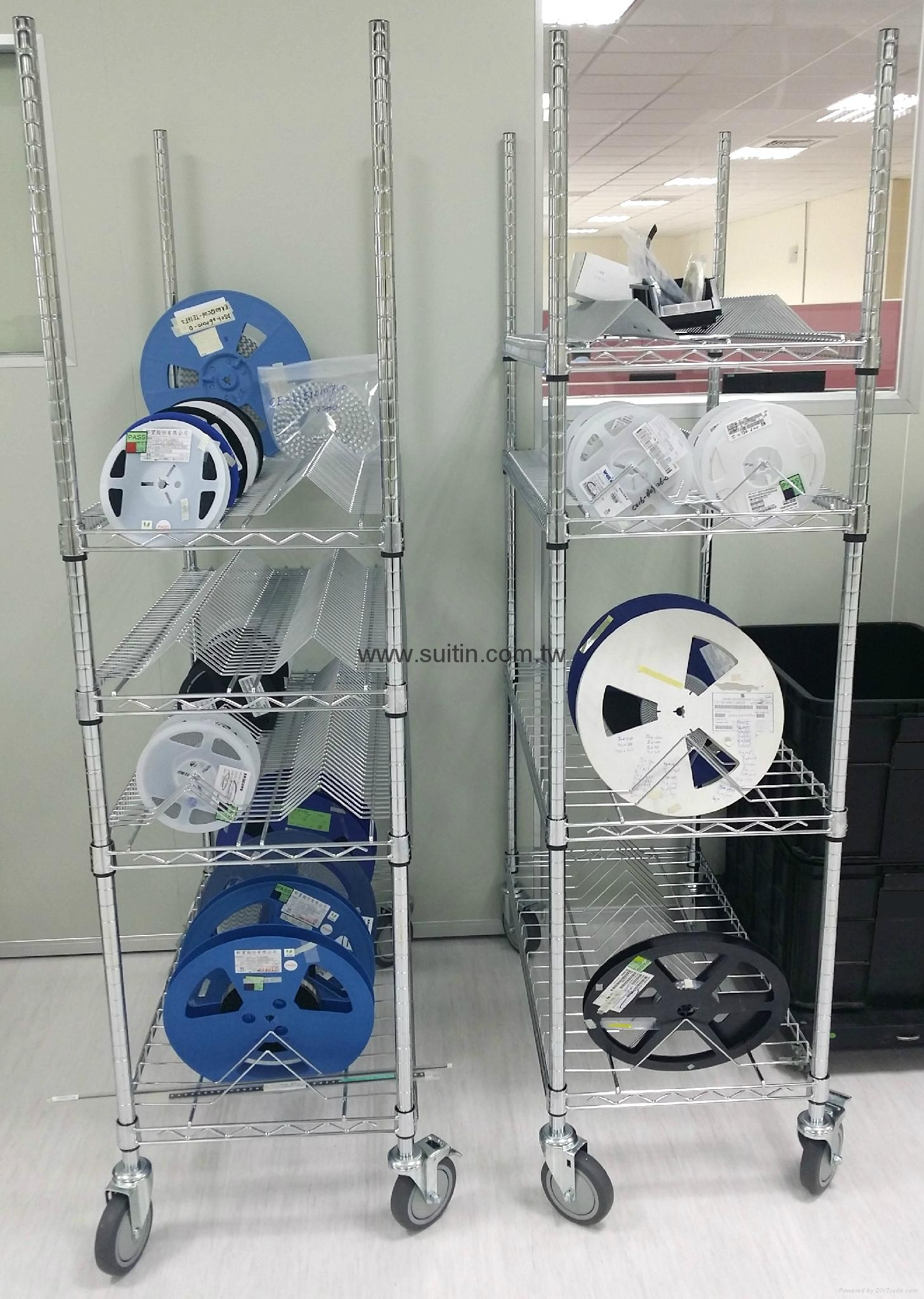 Smt Reel Shelves Taiwan Manufacturer Wire Shelving