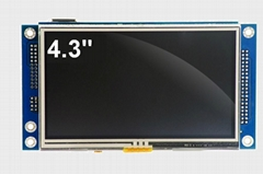 Cortex M4 embedded module with 4W Touch panel