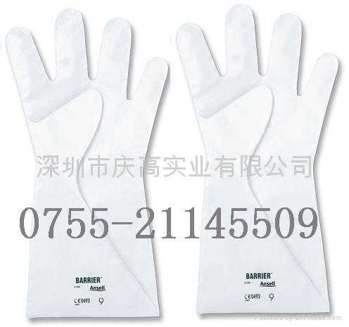 安思爾Ansell 2-100復合膜高效防酸碱手套  1